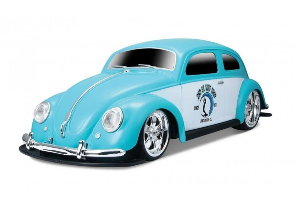 Carro Controle Remoto Fusca 1951 Volkswagen Beetle Azul- Maisto- 81041