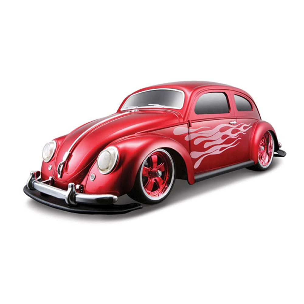 Carro Controle Remoto Fusca 1951 Volkswagen Beetle Vermelho- Maisto- 81041