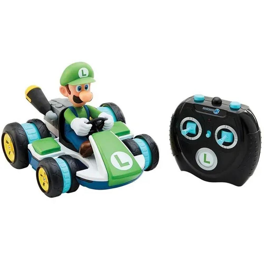 Carro de Controle Remoto Super Mario Luigi Racer Candide 3019