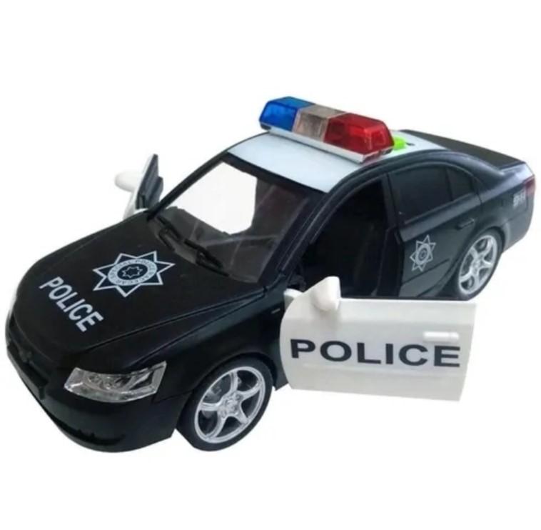 Carro de Policia com luz e som Shiny Toys