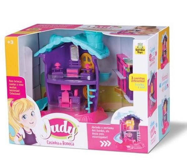 Casinha de Boneca da Judy Quarto c/ Acessórios - 132799  (219)