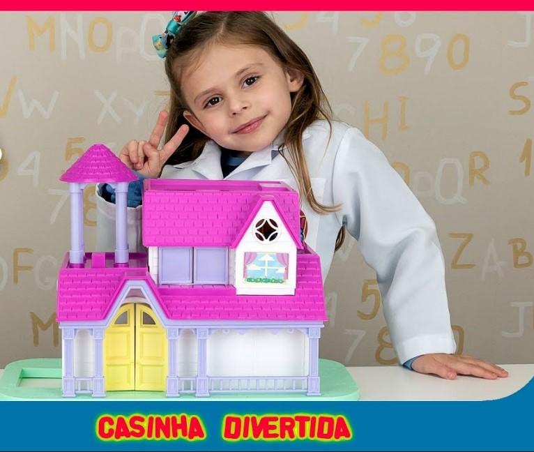 Casinha Divertida Beauty Girls Homeplay