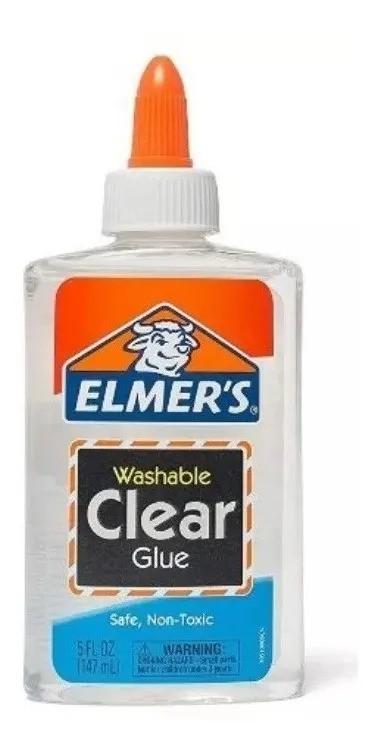 Cola Elmers Clear Transparente 147ml Para Slime Original Elmer's