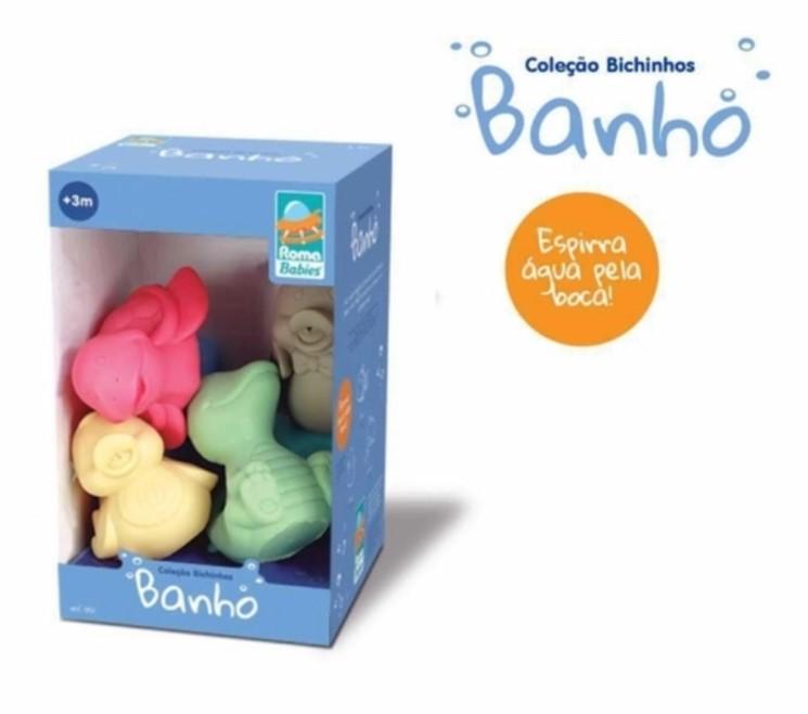 Coleção Bichinhos Para Banho Vinil 0121 Roma