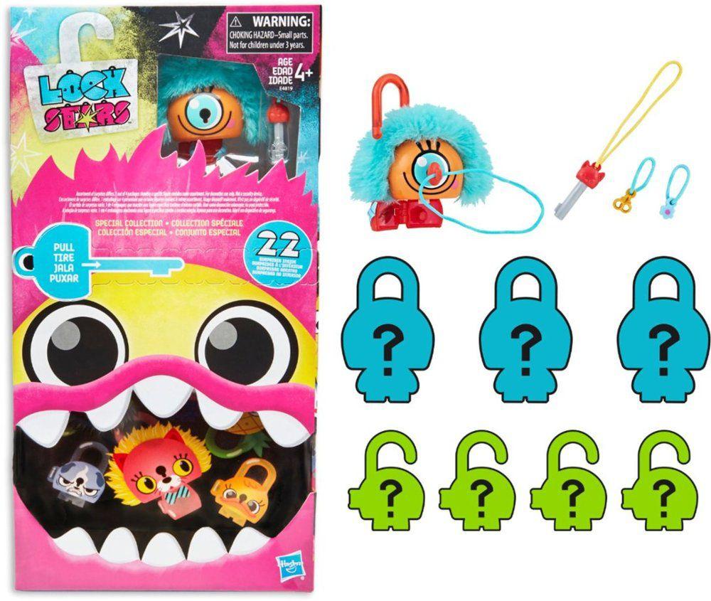 Conjunto Especial Cadeado Lock Stars Multipack Ciclope Laranja - Hasbro- E4819