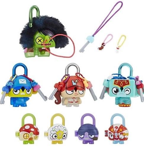 Conjunto Especial Cadeado Lock Stars Multipack Zumbi Verde - Hasbro