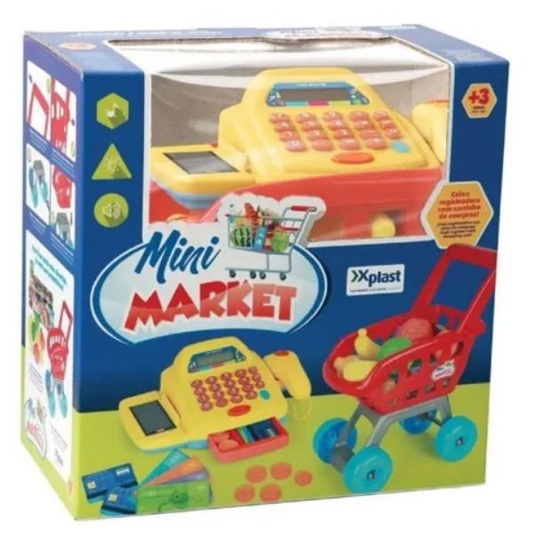 Conjunto Mini Market Com Caixa Registradora 3111