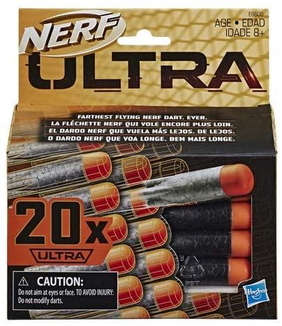 Conjunto Refil Nerf Ultra C/20 Dardos Hasbro E6600