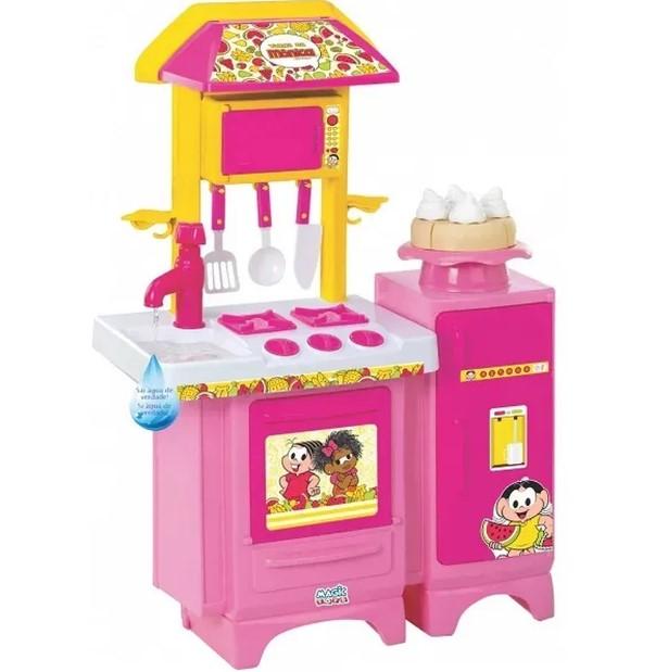 Cozinha Completa Turma da Mônica Magic Toys