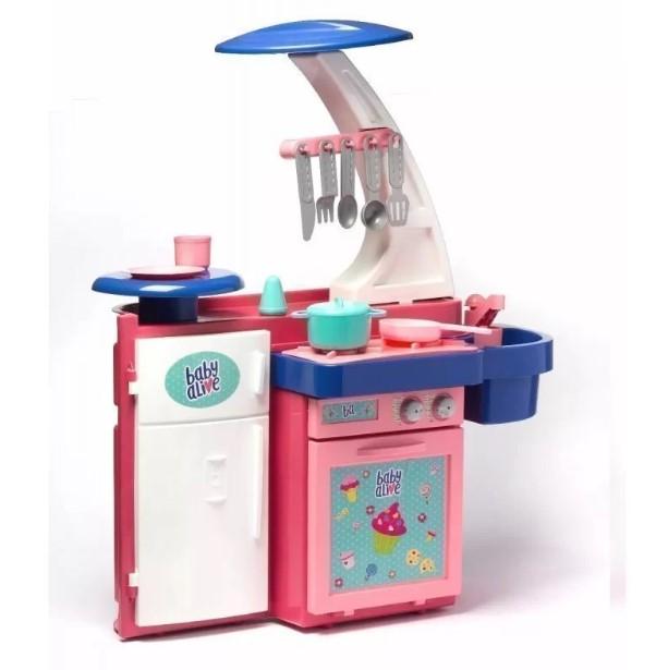 Cozinha Infantil Baby Alive Cheff Gourmet Cotiplás