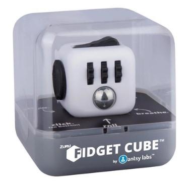 cubo anti stress fidget cube - branco 2602