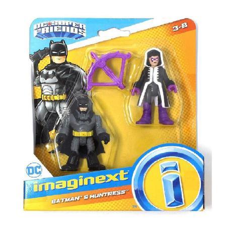 DC Super Friends - Batman e Huntress - Imaginext