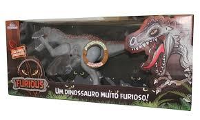 Dinossauro Furious Com Som Cinza - Adijomar