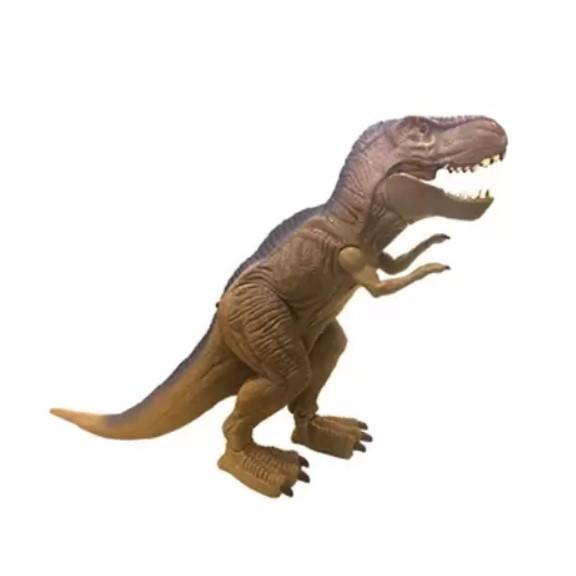 Dinossauro Poderoso Tirano Marrom Rádio Controle Candide