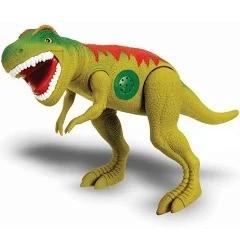 Dinossauro Tirano Rex Com Dispositivo De Som 43cm Adijomar Verde