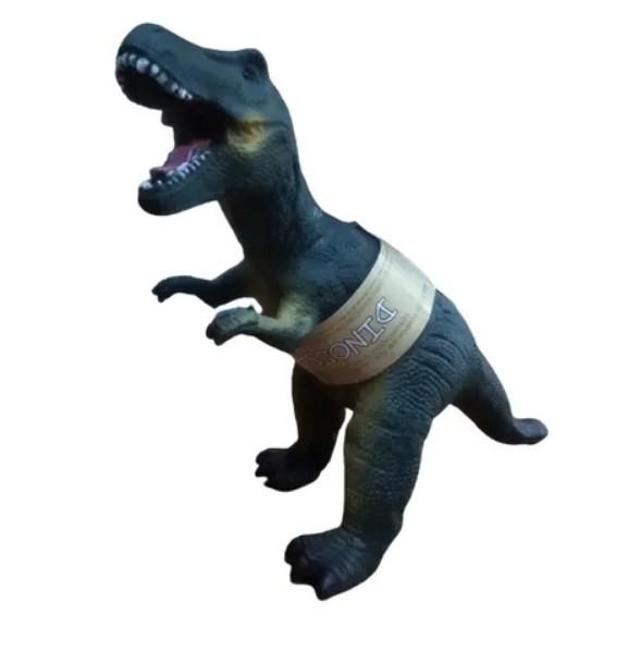 Dinossauro Tiranossauros Rex Vinil Emborrachado com Muito Realismo