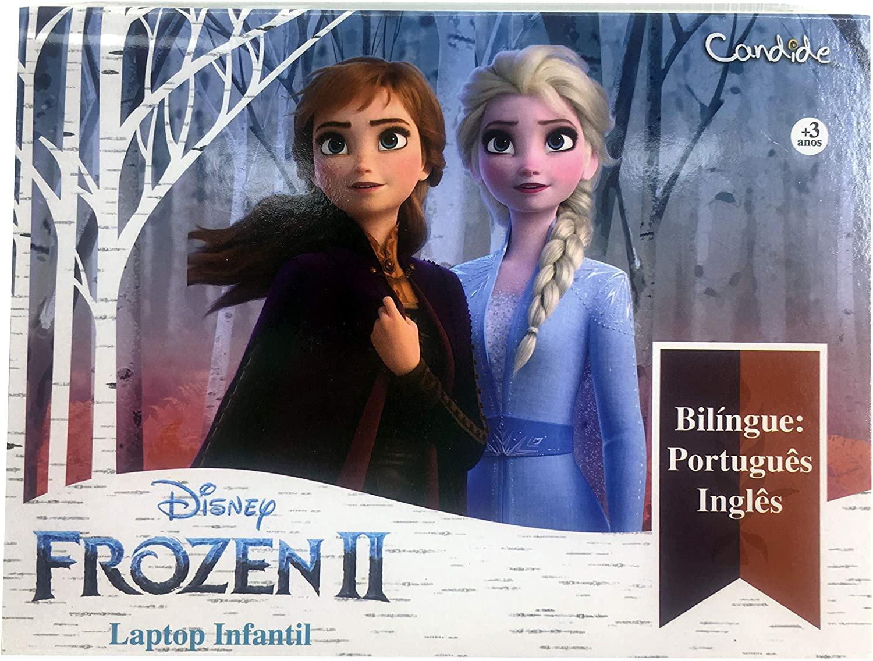 Disney Frozen II - Laptop Infantil Bilíngue: português e inglês - Candide - 8303