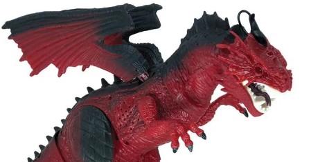 Dragão de Controle Remoto Criaturas Vermelho Candide 1110