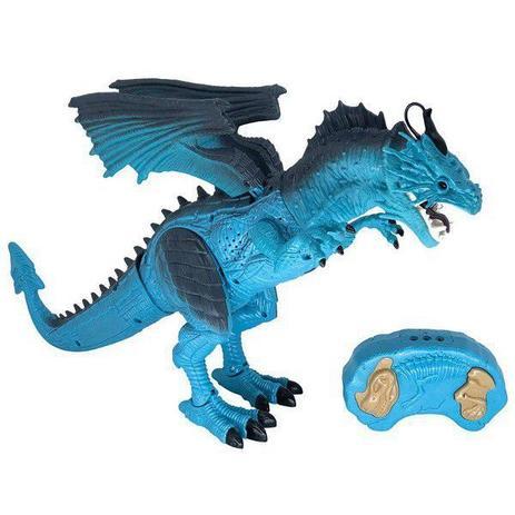 Dragão de Controle Remoto Lendários Azul Candide