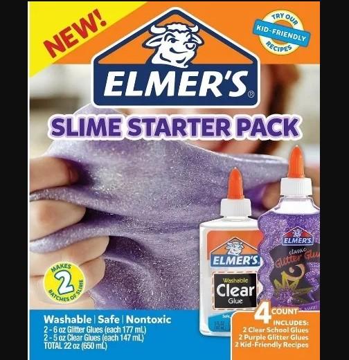 Elmer's Slime Starter Pack E Ativador