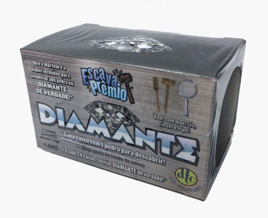 Escava Prêmio Diamante- DTC- 4470