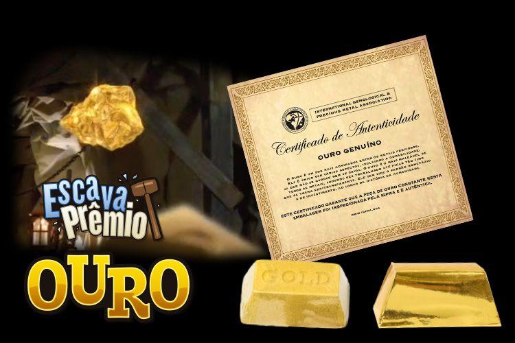 Escava Prêmio Ouro-Dtc- 4471