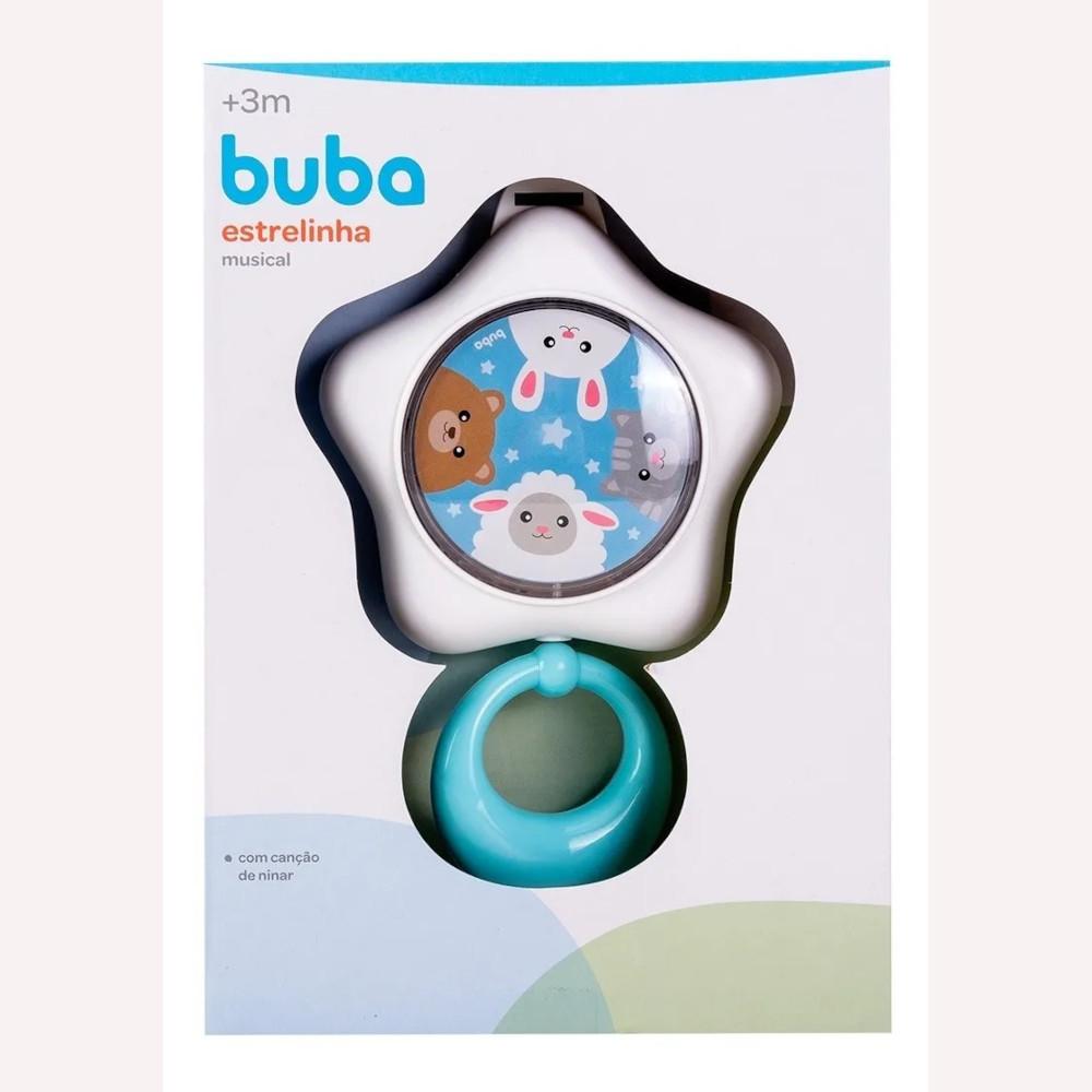 Estrelinha Musical Infantil Azul Buba