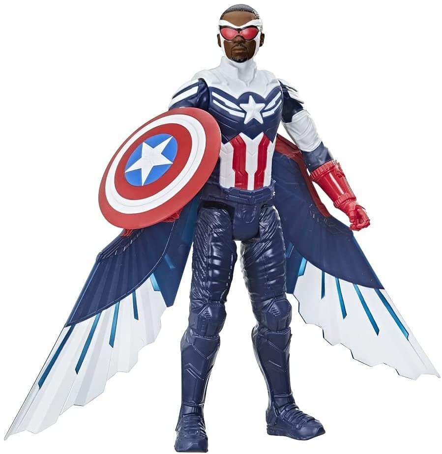 Falcão e o Soldado Invernal Capitão América Hasbro