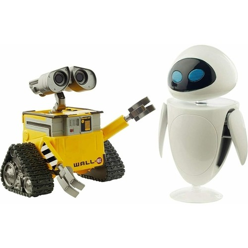 Figura Articulada Disney Pixar Monstros S.A. Wall e Eve Mattel