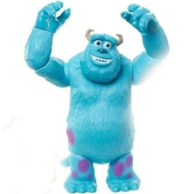 Figura Articulada - Disney - Sulley  - Pixar - Monstros S.a.