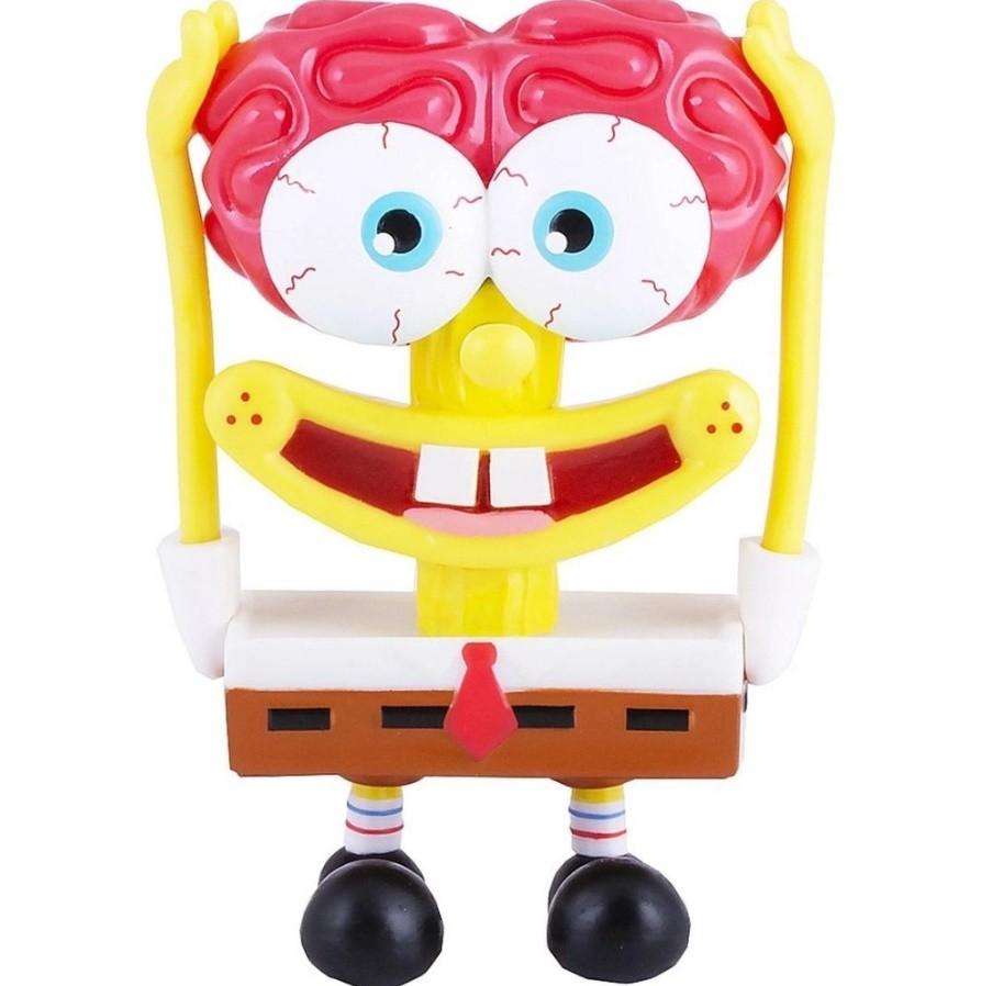Figura Bob Esponja Calça Quadrada B-Movie da Mattel Gmx10