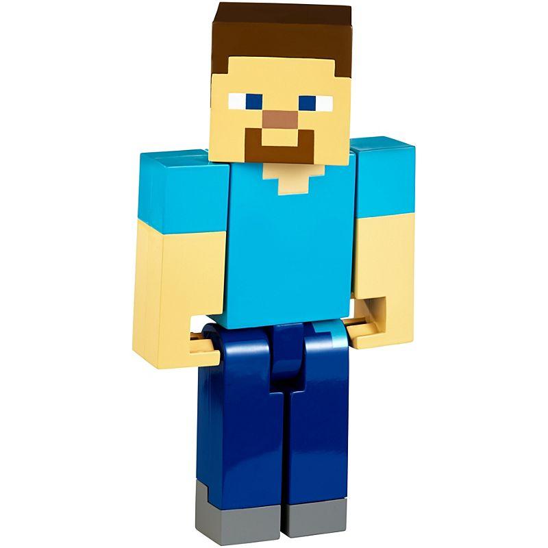 Figura de ação Minecraft Steve -Mattel-FLC70