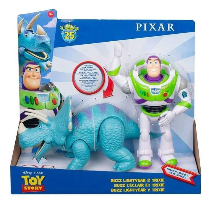 Figura Disney Toy Story Buzz Lightyear E Trixie Mattel