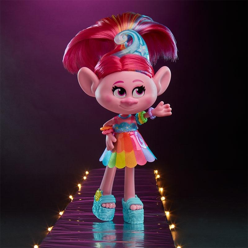 Figura Fashion Trolls Poppy Glamour Hasbro