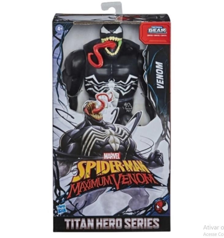Figura Titan Hero Max Venom  E8684  Hasbro