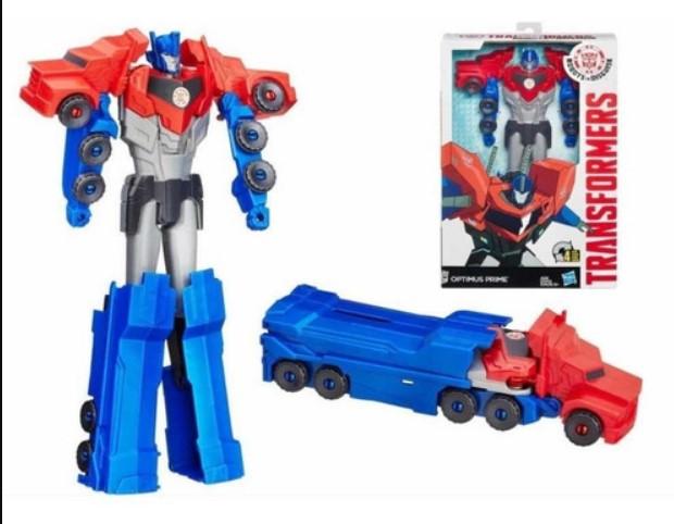 Figura Transformers Optimus Prime- Titan Changer- Hasbro- B2238