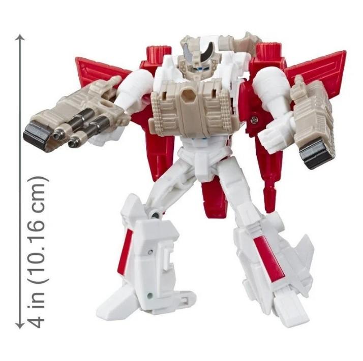 Figuras Transformáveis - Transformers Cyberverse - Jetfire e Tank Cannon - Hasbro