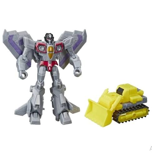 Figuras Transformáveis - Transformers Cyberverse - Starscream e Demolition Destroyer - Hasbro