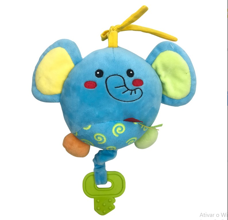 Fofy Atividades Baby Guta Guti elefante, Cachorro e Sapo Sortido DMB5986