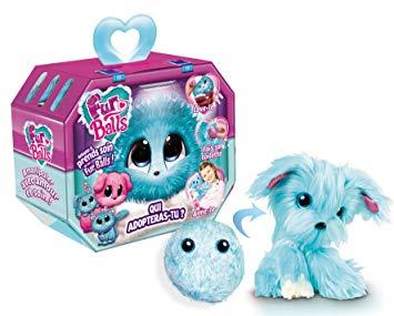 Fur Balls Pets Adotados Surpresa-Azul-Fun-84118