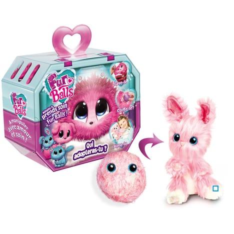 Fur Balls Pets Adotados Surpresa-Rosa-Fun-84118