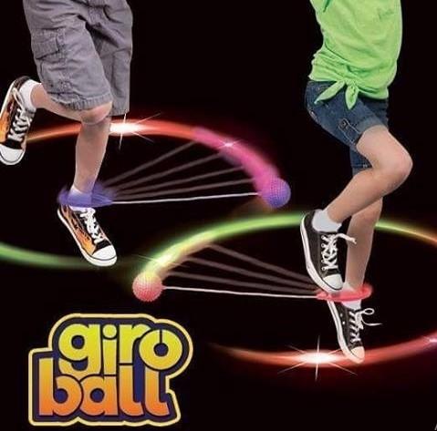 Go play giro Ball Pula corda giratório com luz Led - Rosa