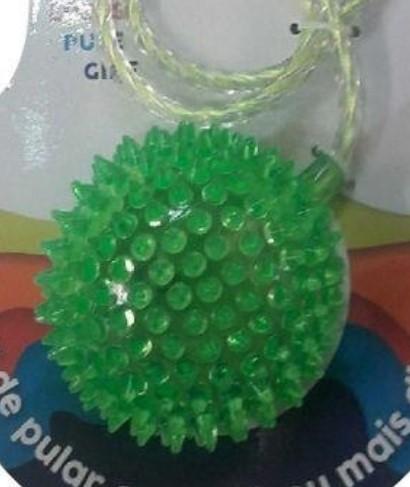 Go play giro Ball Pula corda giratório com luz Led - Verde