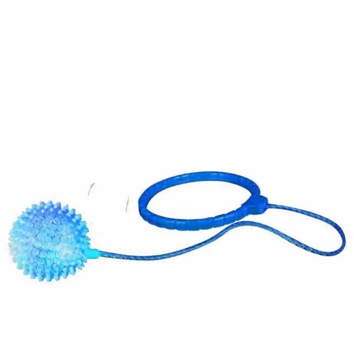 Go Play pula corda giratória Azul com luz led