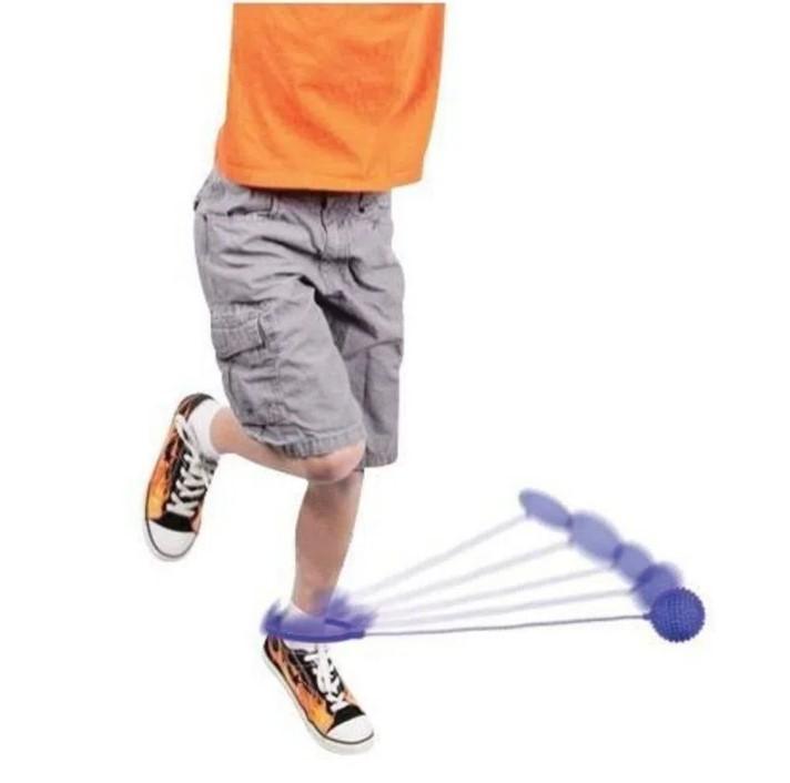 Go Play pula corda giratória roxa com luz led