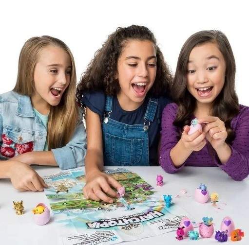 Hatchimals Colleggtibles Blister com 4 Figuras Sunny
