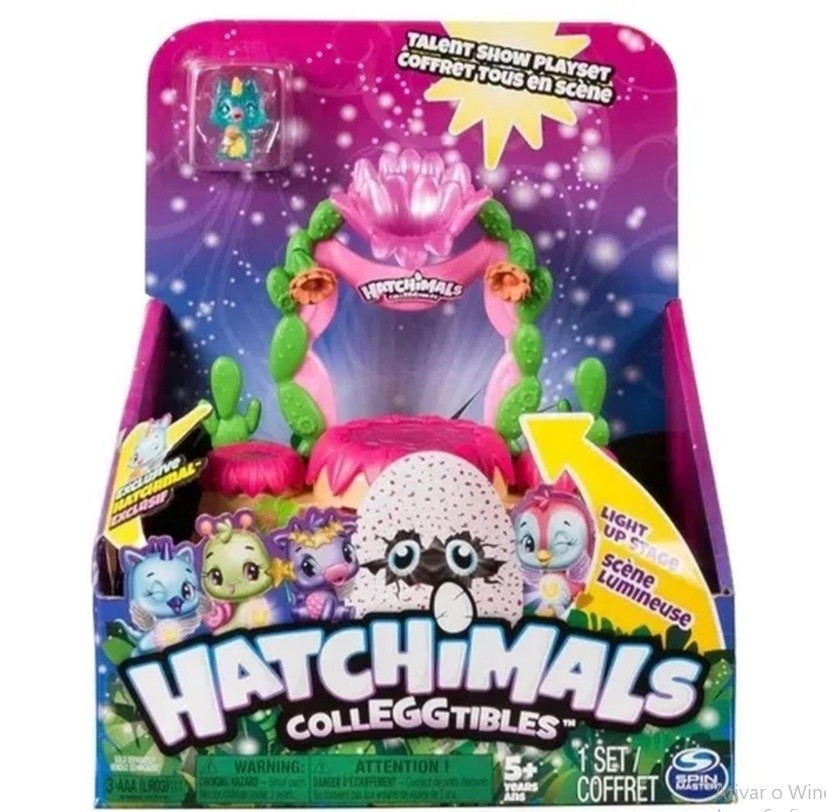 Hatchimals Colleggtibles Mostre o Seu Brilho Sunny