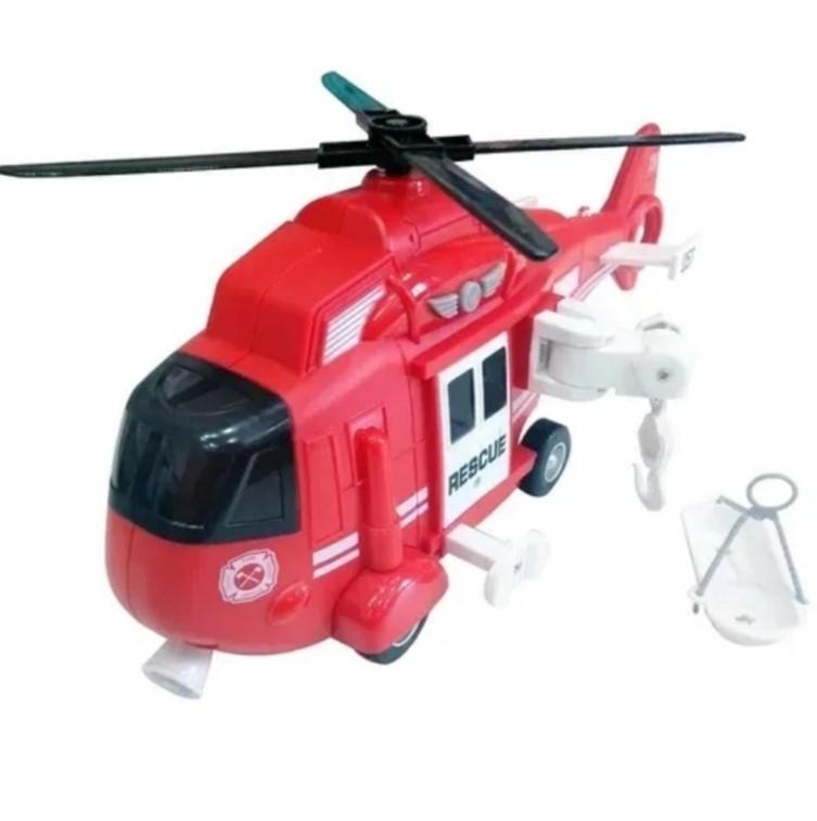 Helicóptero de resgate com luz e som Public Heroes Shiny Toys
