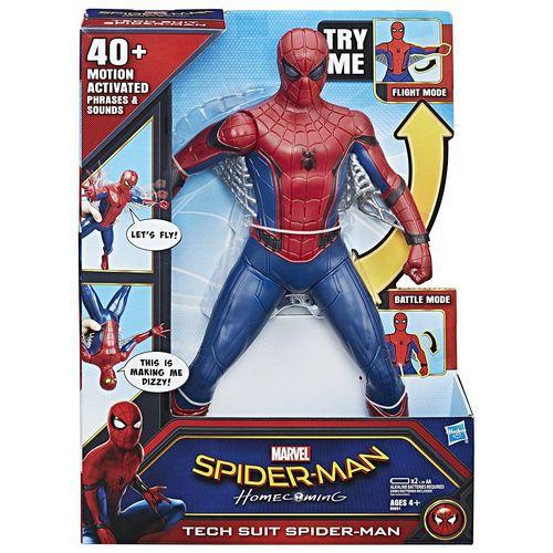 Homem Aranha Com Traje Hi-tech-Eletrônico-Hasbro-B9691
