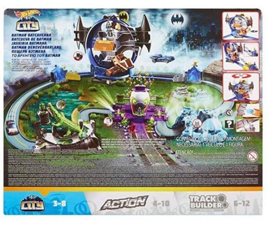 Hot Wheels Batman Batcaverna - Mattel - GBW55